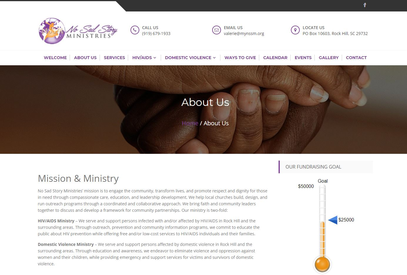 No Sad Story Ministries
